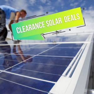 Clearance Solar Deals