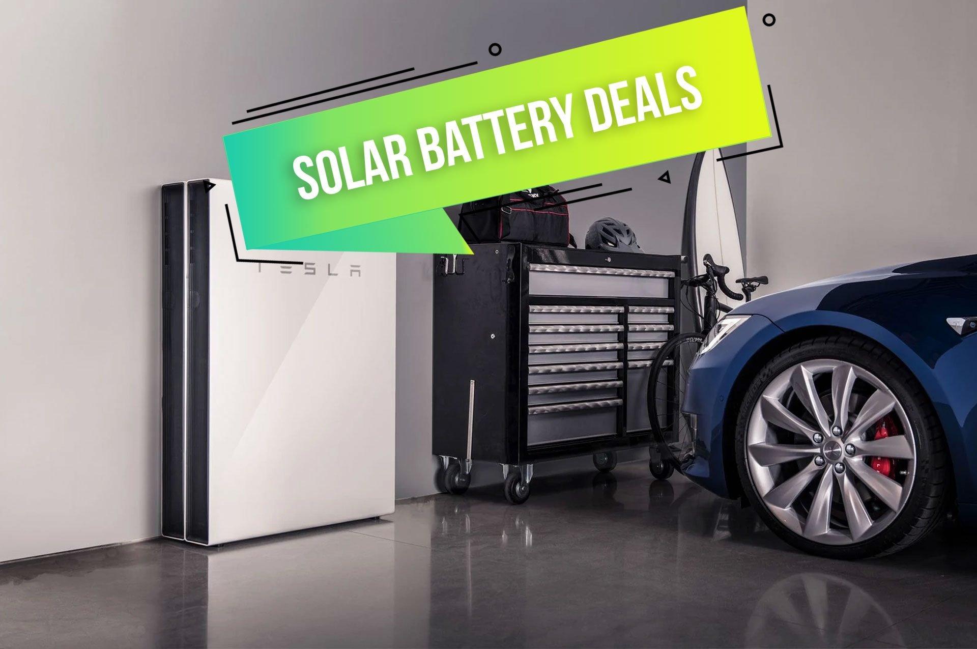 Solar Battery Deals