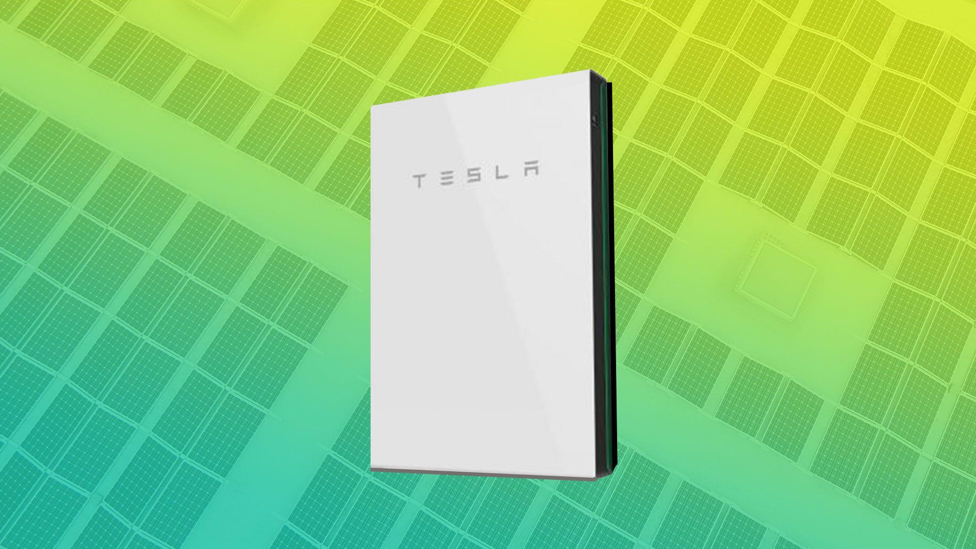 Solar Battery Deals Tesla Powerwall Image