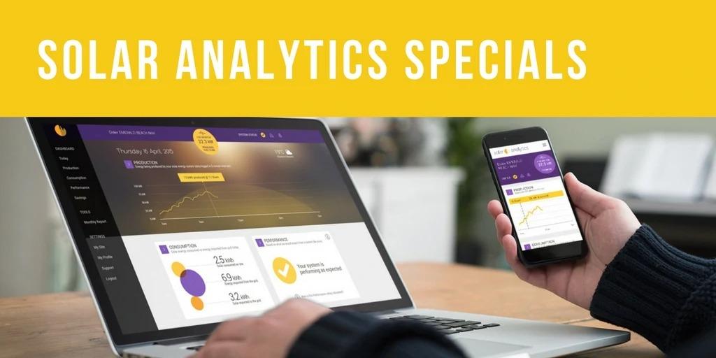Solar Analytics Specials by Solar Analytics Special