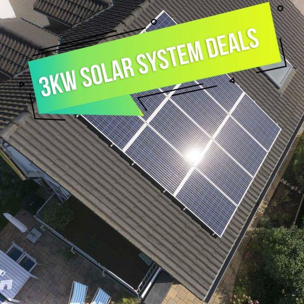 3kW Solar System Deals