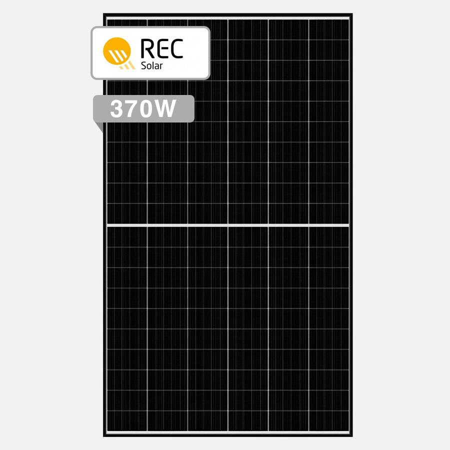 18 x REC 370W Alpha Series - Hybrid Solar Deals