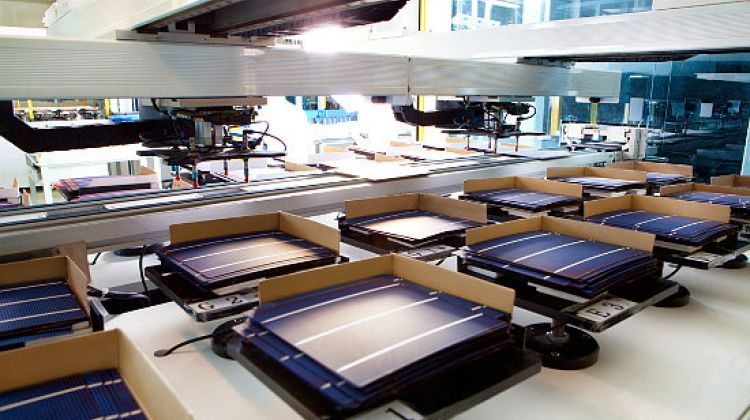 Trina Solar Cell Sorting Step