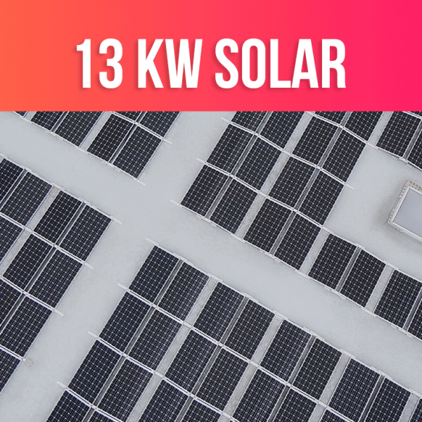 13kW Solar System Deals