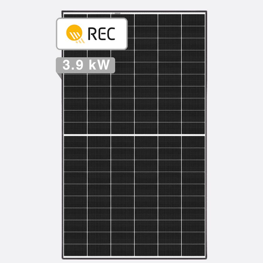12 x REC 325W Twin Peak 2 Mono - Clearance Solar Deals