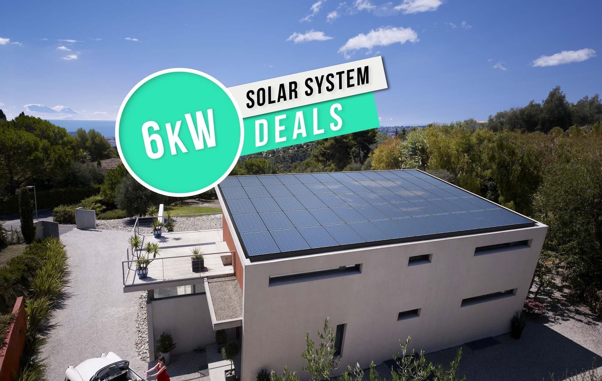 6kW Solar System Deals
