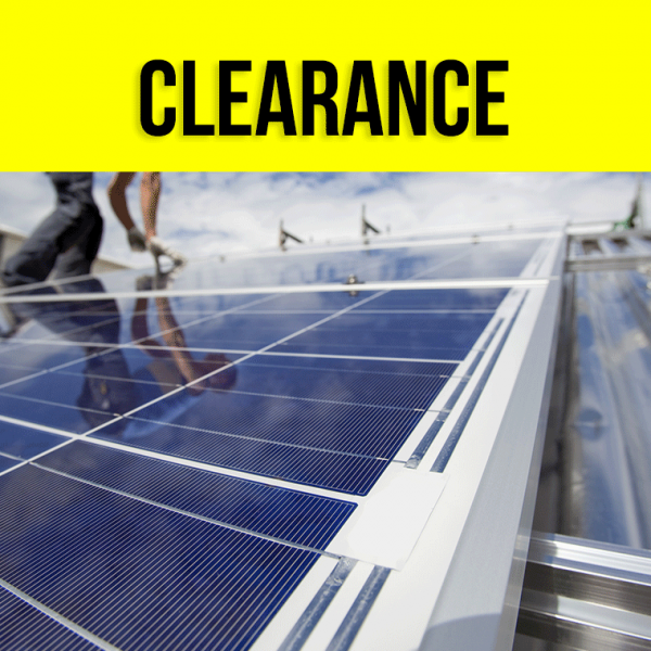 Clearance Solar Systems Deals