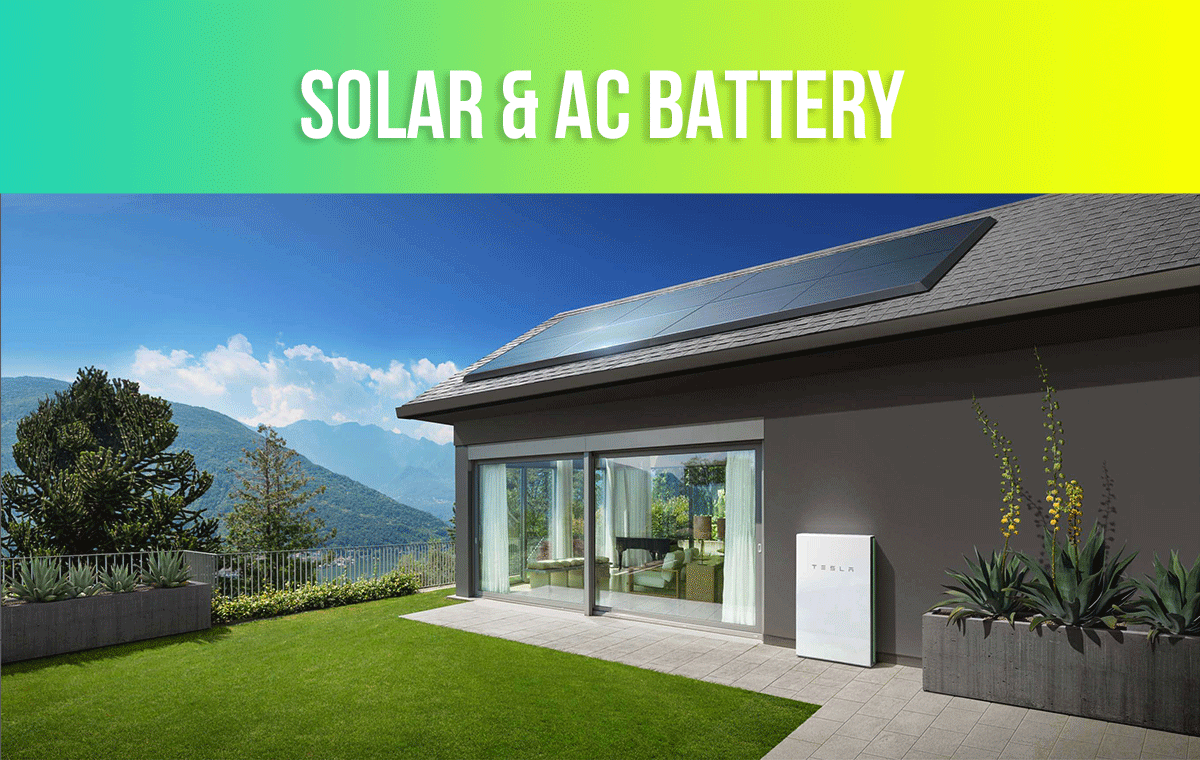 AC Coupled Battery Solar Systems Deals