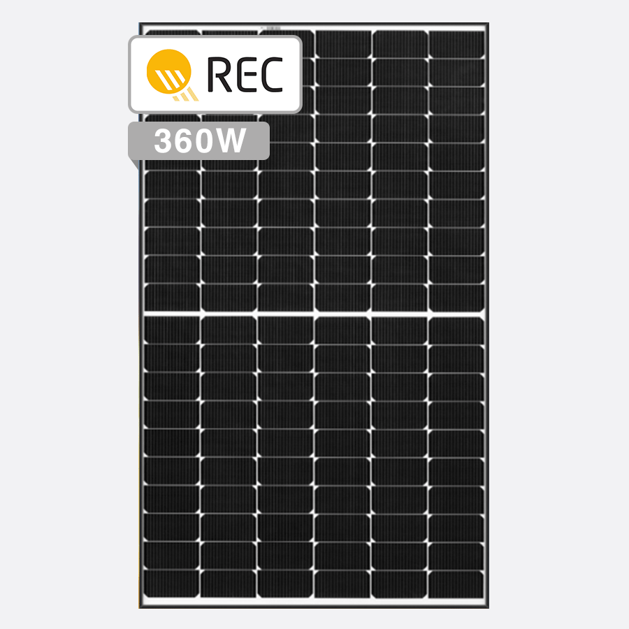 REC Alpha Solar Panels by Perth Solar Warehouse