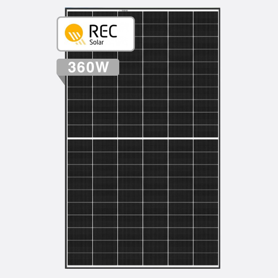 REC Alpha Series by Perth Solar Warehouse
