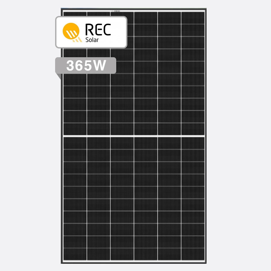 REC Alpha 365W Solar Panels by Perth Solar Warehouse