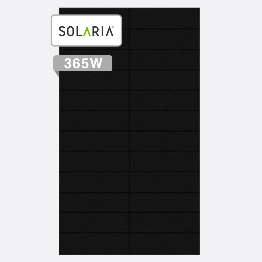 Solaria PowerXT 365W solar panel by Perth Solar Warehouse
