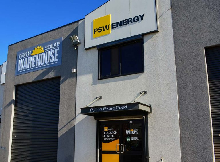 Perth Solar Warehouse Signage