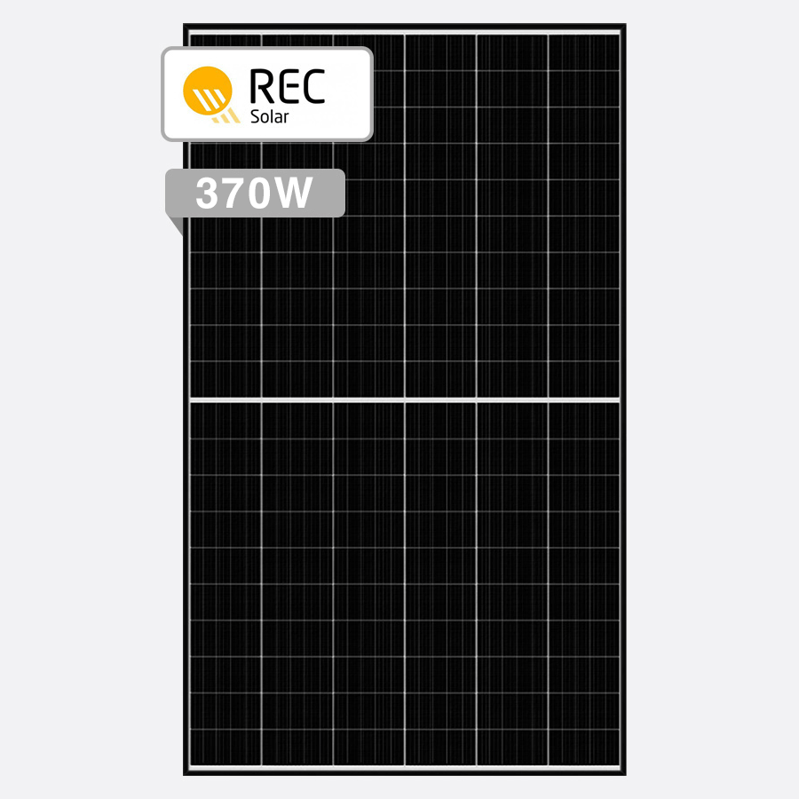REC Alpha 370W By Perth Solar Warehouse
