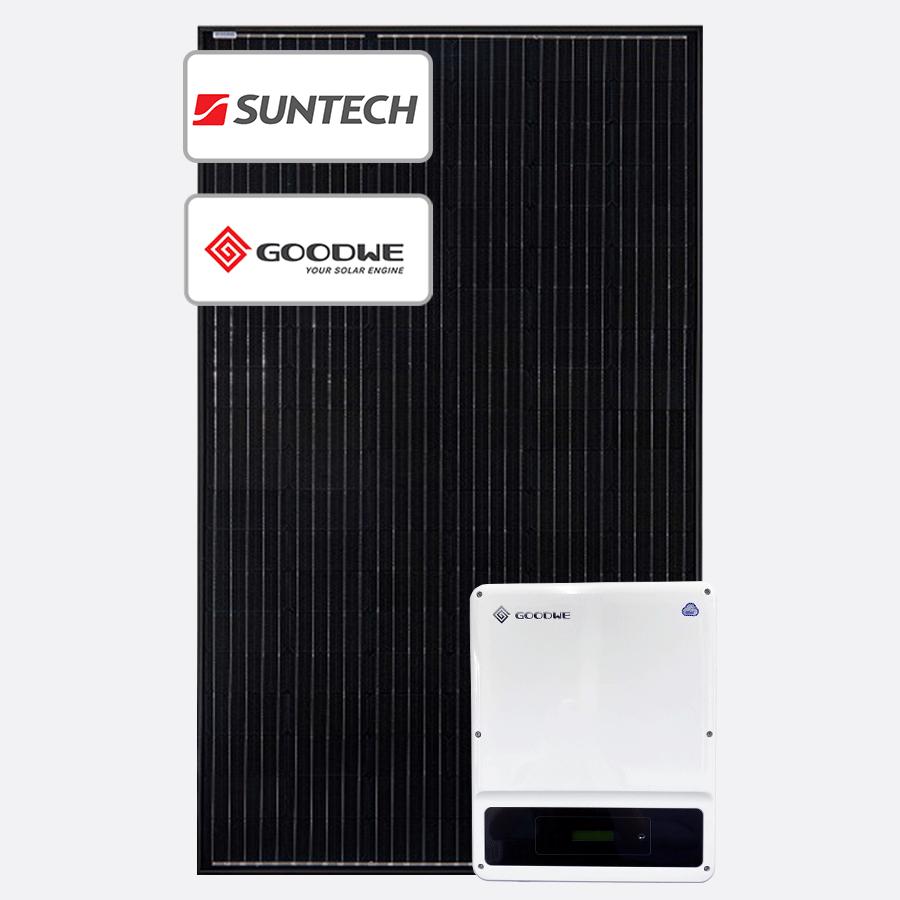 6.6kW Solar Deal - Goodwe & Suntech