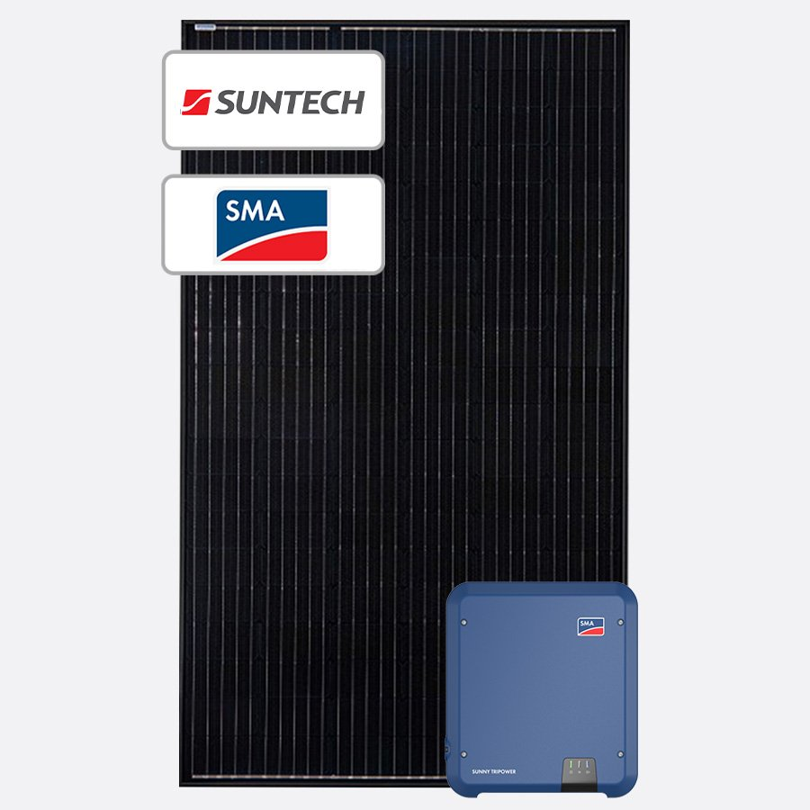 Suntech and SMA Solar System by Perth Solar Warehouse