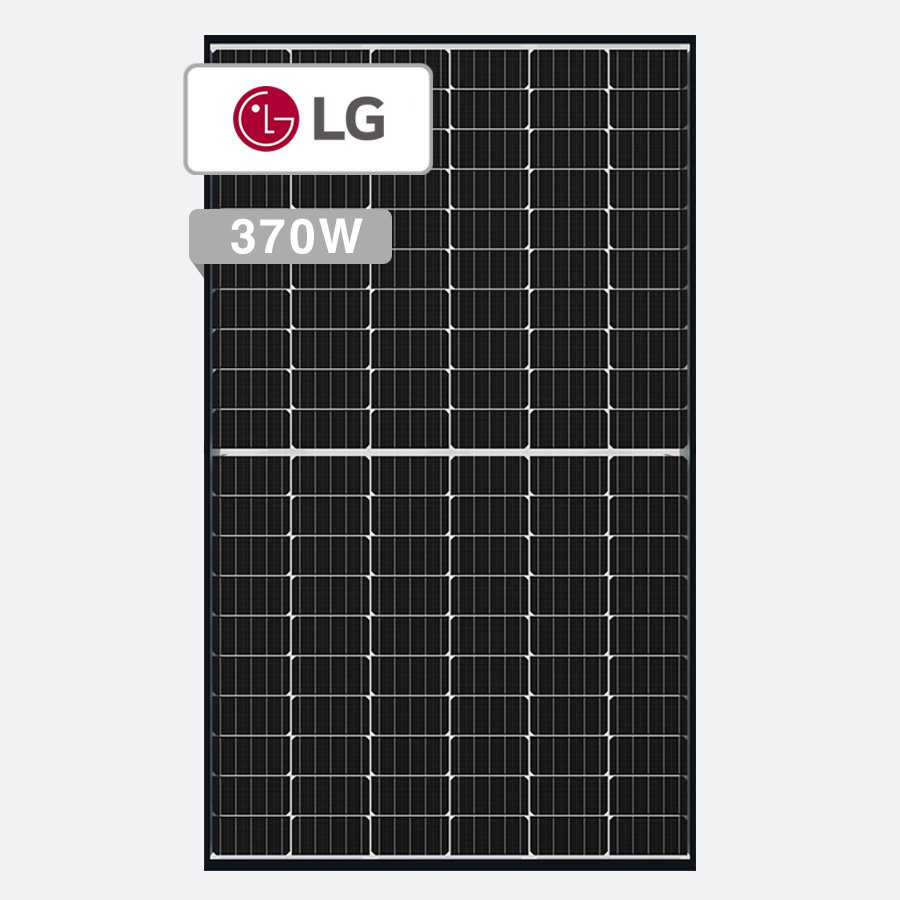 New LG Mono X Plus 370W Solar Panel