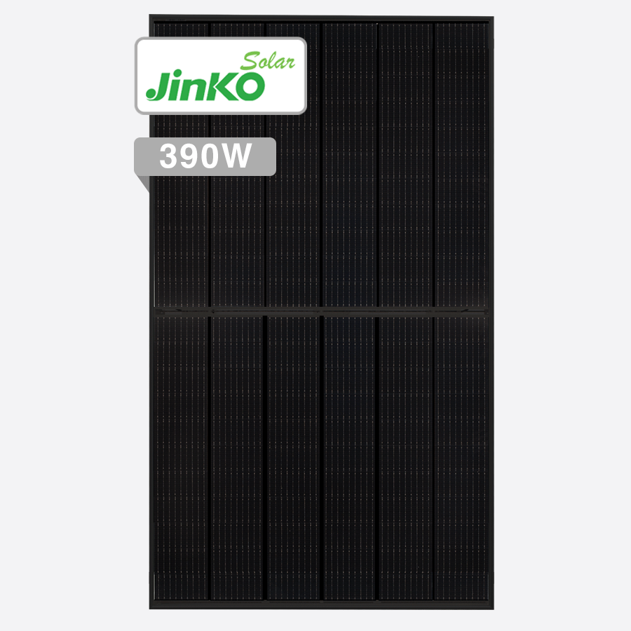 Jinko Tiger 390W Full Black Solar Panels Perth Solar Warehouse