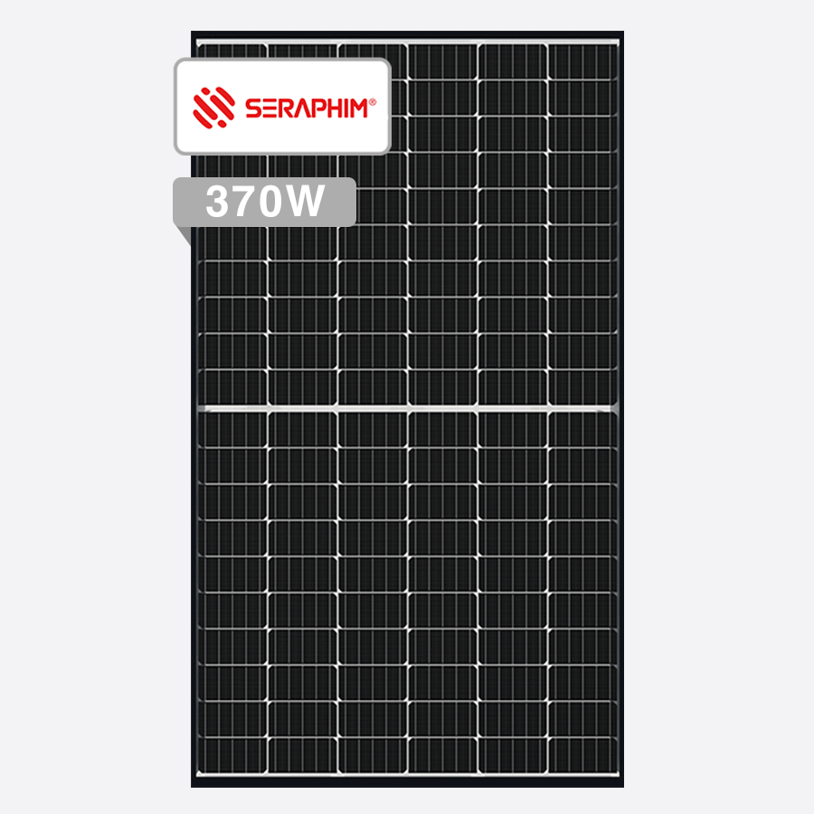 Seraphim Blade 370W Full Black Solar Panels Perth Solar Warehouse