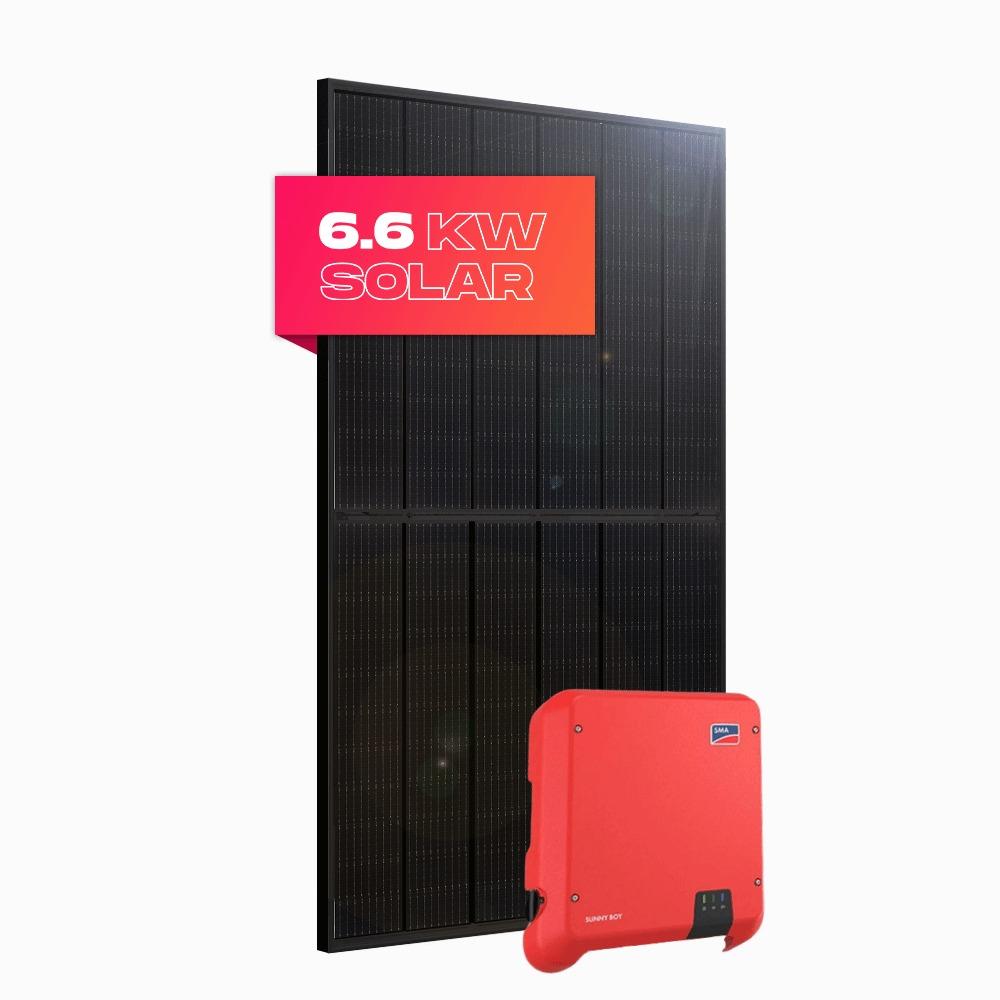 6.6kW Bunbury WA by Perth Solar Warehouse